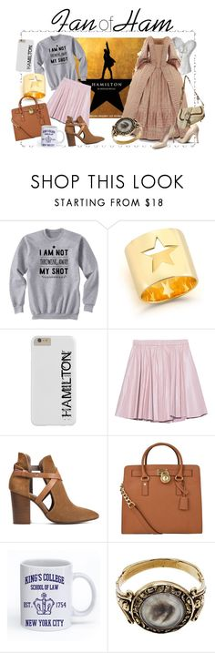 """Fan of Ham!"" by rarimena ❤ liked on Polyvore featuring Elizabeth and James, 2NDDAY, H London, MICHAEL Michael Kors, Christian Dior, vintage, Hamilton and fanofham"