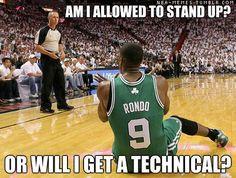 NBA Memes Poor rondo