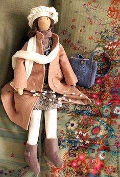 Купить Верба. Кукла в стиле тильда. - бледно-розовый, тильда, кукла ручной работы