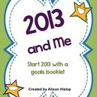This is a great booklet for children to create at the start of the new year to investigate goals for 2013. FREEBIE