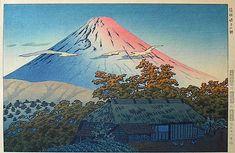 Morning at Ubako, Hakone, by Shiro Kasamatsu, 1953