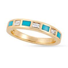 Turquoise Bonita Wedding Ring
