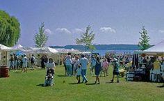 Suttons Bay Annual Community Art Festival, near Traverse City