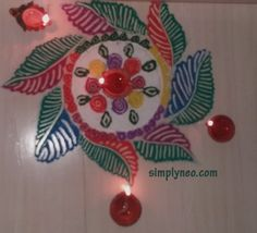 happy new year diwali traditional rangoli Onam floral Rangoli with dots designs 2018 Happy New Year Sms, Happy New Year Quotes, Rangoli With Dots, Simple Rangoli, New Year Greeting Cards, New Year Greetings, New Year Love Messages, Traditional Rangoli, New Year Rangoli