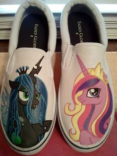 my little pony shoes custom RESERVED by offthetop on Etsy, $60.00