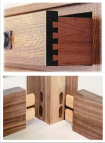 Kitchen drawers and see if your builder has used dovetail the bottom