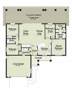 Plan #18-9543 - Houseplans.com