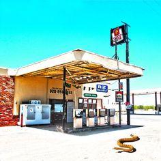 GASSTATION Somewhere Highway 60 Arizona