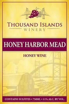 NV Thousand Islands Winery Honey Harbor Mead Wine 750 ml *** You can get additional details at the image link. Sauvignon Blanc, Cabernet Sauvignon, Mead Wine, Honey Wine, Thousand Islands, Amazon Price, Pinot Noir, Gourmet Recipes, History