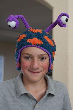 Alien Polartec knitted fleece hat