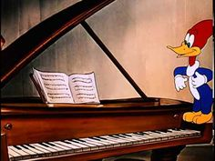 Musical Moments from Chopin or Chopin's Musical Moments is a 1946 Academy Award-nominated Andy Panda cartoon, co-starring Woody Woodpecker. Piano Lessons, Music Lessons, Woody Woodpecker, School Videos, Music Composers, Piano Teaching, Ex Machina, Music Activities, Music For Kids