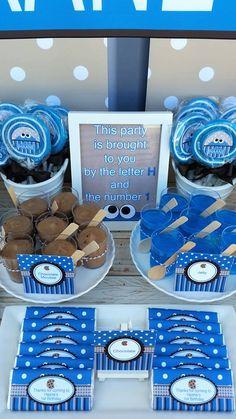 Little Wish Parties | Cookie Monster First Birthday | https://littlewishparties.com