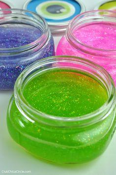 Faça a sua Festa: Tutorial: Geleca Caseira com Glitter