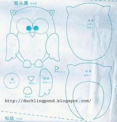 owl template - bjl