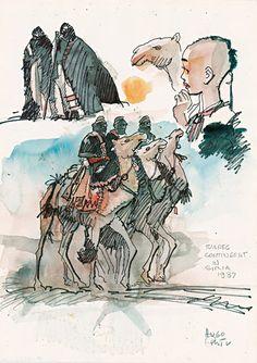 "Tuareg, ""Les Scorpions du désert"" tome 2, 1991"