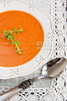 supa crema de linte Lentil Recipes, Vegetarian Recipes, Spicy Lentil Soup, Homemade Soup, Lentils, Bon Appetit, Cooking Time, Food Porn, Curry