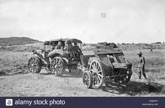 A Field Gun Sat Doghea Being Drawn By A Pavesi Tractor During The Stock Photo, Royalty Free Image: 48206451 - Alamy