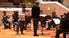 Rehearsal footage: Charlie Siem - The 4 Seasons - Winter by Antonio Vivaldi - Violin Concerto in F minor, RV 297,  Berliner Philharmonie Dec 3, 2014 Johannes Moesus, conductor Charlie Siem, violin -  Bayerisches Kammerorchester