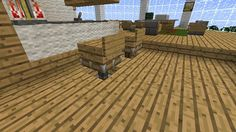 Minecraft Furniture - Stools