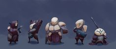 ArtStation - Mini squad, Elijah Brown