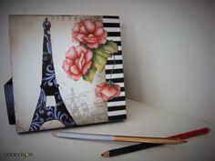 Caixa com decoupage #artesanato #decoupage #marrispeartesanato #façavocemesmo #arte #MDF