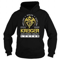 Cool KREIGER Legend - KREIGER Last Name, Surname T-Shirt T-Shirts