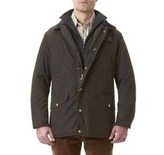 c5070c28f041 Martindale Waxed Jacket in Olive by Barbour