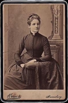 Victorian woman . #woman #Victorian #vintage #portrait #1800s #19th_century #dress