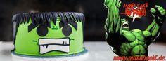 The Hulk Cake – The Avengers Cake