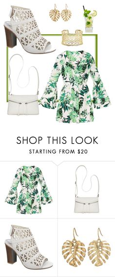 """""""Junglefever!"""" by dmasterstylist ❤ liked on Polyvore featuring Bueno, The Sak and Kendra Scott"""