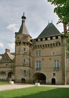 Huchepie manor, chateaux de la Loire  - 387 rue de Huchepie, Vendôme, Loir et Cher. France