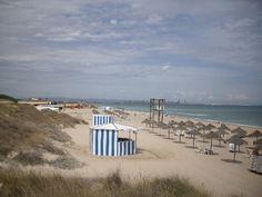 Playa El Saler en (Valencia)
