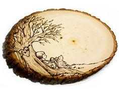 Wood slice initials guest books Ideas for 2019 Wood Burning Crafts, Wood Burning Art, Wood Canvas, Wood Art, Stick On Wood Wall, Wood Floor Pattern, 100 Acre Wood, Wooden Memory Box, Wood Pergola