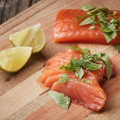 Didis Rezept - Gebeizter Lachs Fish, Meat, Good Food, Food Food, Simple, Pisces