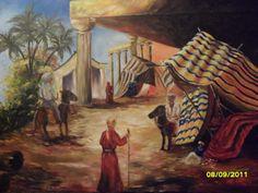 Pintura Acrílico sobre tela 80 x 1.20 cm.  Vendido por R$ 3mil