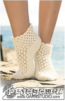 Socks & Slippers - Free knitting patterns and crochet patterns by DROPS Design Knitting Designs, Knitting Patterns Free, Knitting Projects, Crochet Patterns, Free Pattern, Free Knitting, Scarf Patterns, Drops Design, Knitted Slippers