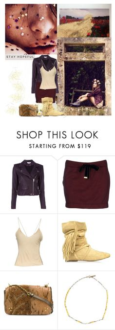 """Fields of Gold"" by sue-mes ❤ liked on Polyvore featuring Baudelaire, IRO, Gucci, Jérôme Dreyfuss and Isabel Marant"