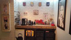 DIY Pallet Coffee bar  counter
