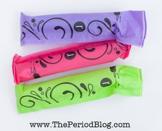THE PERIOD BLOG: U By Kotex Click Regular Tampons Review