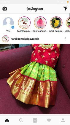 Designs Kids Lehanga Design, Lehanga For Kids, Kids Frocks Design, Baby Lehenga, Kids Lehenga Choli, Frocks For Girls, Dresses Kids Girl, Kids Outfits, Kids Indian Wear