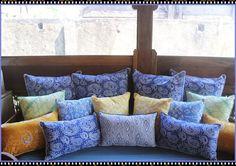 Colorful Batik Cushions.