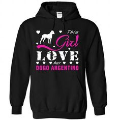Dogo Argentino - #baby gift #hostess gift. ADD TO CART => https://www.sunfrog.com/Pets/Dogo-Argentino-2244-Black-Hoodie.html?68278