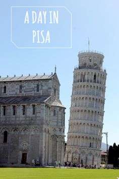 Travel with Kenza: A DAY IN PISA