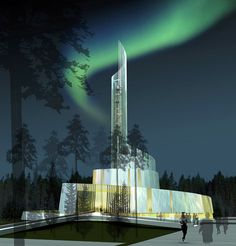 Nordlyskatedralen - the Cathedral of Northern Lights, Norway