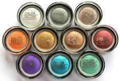 Maybelline is giving MAC a run for their money with these. They are perfect eyeshadow bases. maybelline color tattoos