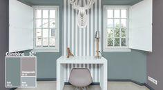 Las líneas verticales y los tonos neutros le darán elegancia y altura a tus habitaciones. Son ideales para tus espacios creativos.