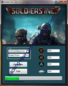 hacking-new-games.blogspot.com | Soldiers Inc. Hack v1.4.