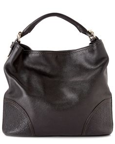 Spotted this Gucci Black Leather Signora Hobo on Rue La La. Shop (quickly!).