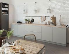 Idee voor kleur frontjes en tegeltjes daarboven (Grando keukens)