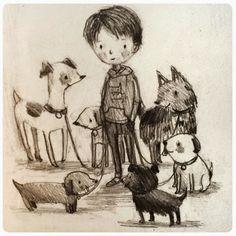 Pinzellades al món: Els dibuixos de Stephanie Graegin